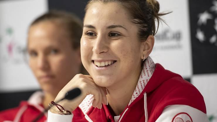 Belinda Bencic trifft in der Fed-Cup-Partie gegen Italien zum Auftakt auf Sara Errani