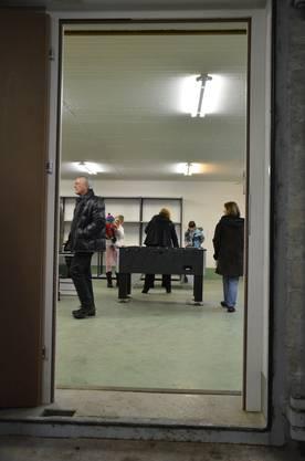 Die neue Asyl-Notunterkunft in Schlieren.