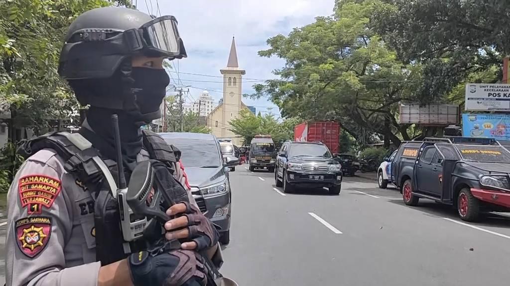 14 Verletzte bei Explosion vor Kirche