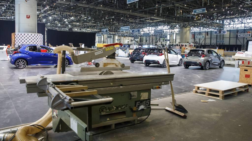 Der Genfer Autosalon steht am Rande des Bankrotts