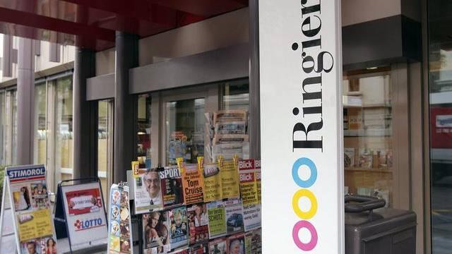 Kiosk beim Ringier-Verlagshaus in Zürich (Archiv)