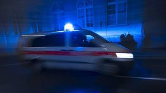 Ein Polizeiauto. (Symbolbild)