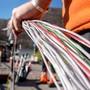 Swisscom will die Abdeckung mit Glasfasern bis 2025 verdoppeln. (Symbolbild)