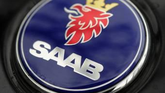 Das Logo der Marke Saab