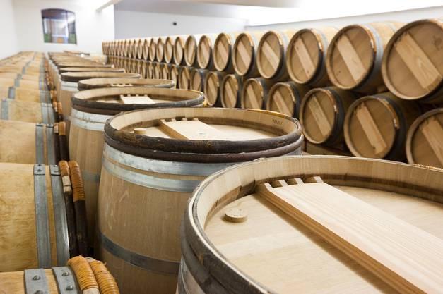 Im Weinkeller des Château Lynch-Bages (Pauillac)