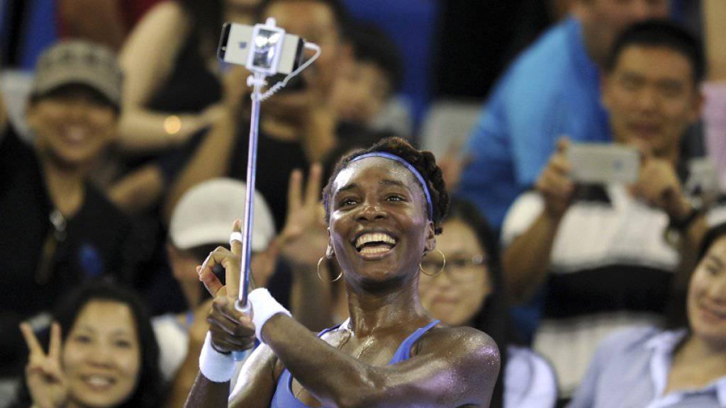 Strahlende Siegerin: Mit 35 Jahren kehrt Venus Williams in die Top Ten zurück