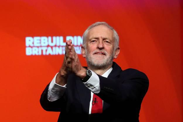 Jeremy Corbyn: Der Parteivorsitzende der britischen Labour-Partei kämpft seit Jahrzehnten für seine sozialistischen Ideale.