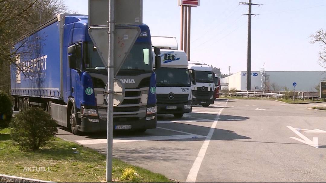 Geschlossene Autobahn-Toiletten ärgern Lastwagenchauffeure