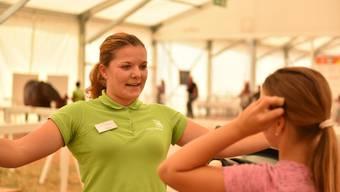 Sarina Thommen ist die beste Pferdefachfrau der Schweiz.