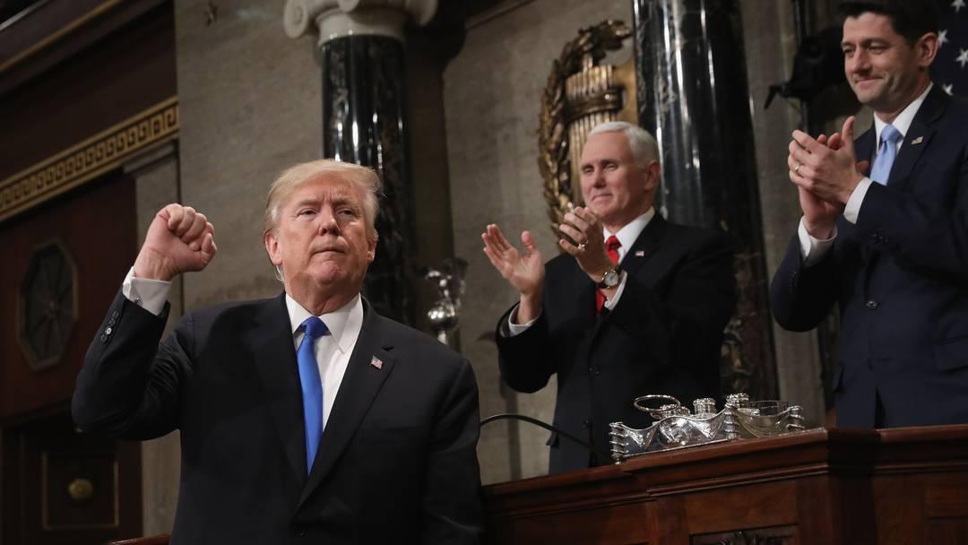 Trumps Rede in voller Länge.