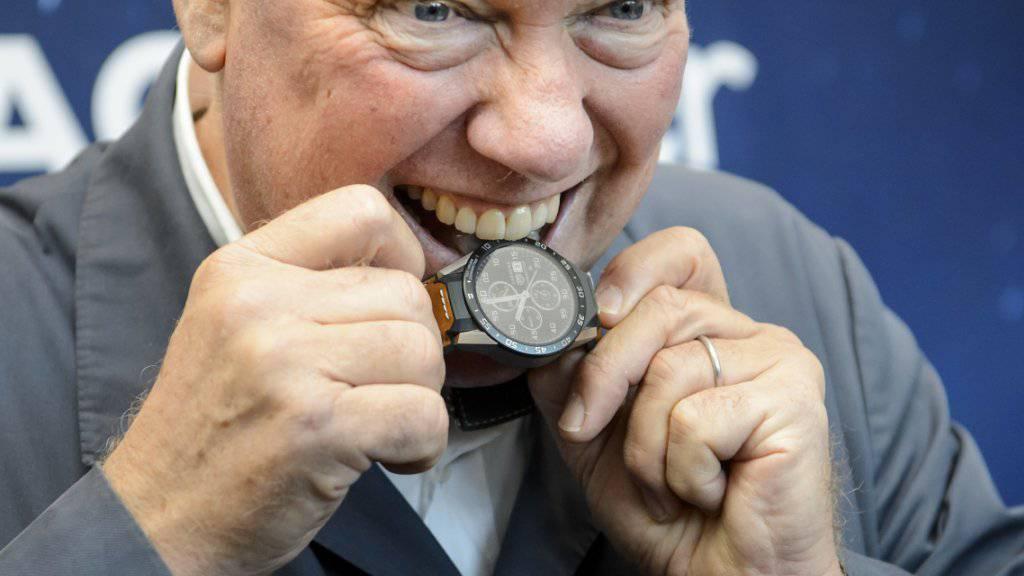 Jean-Claude Biver, Chef der LVMH-Uhrensparte sowie ihrer Uhrenmarken Tag Heuer und neu auch Zenith, will Synergien zwischen den Marken nutzen. (Archiv)