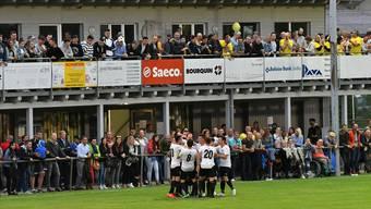 Die Aufstiegsspiele zur 2. Liga, wie hier vor knapp zwei Monaten auf dem Sportplatz Bechburg in Oensingen, sind Publikumsmagnete. Bruno Kissling