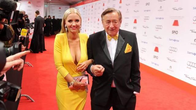 Lugner und seine Cathy am Samstag beim deutschen Filmball