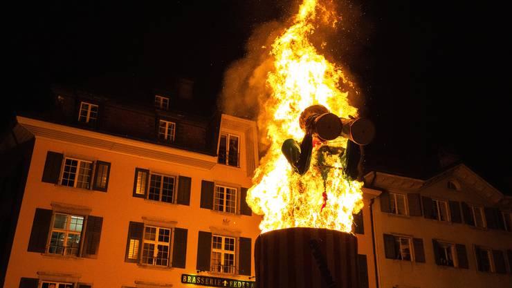 Böögg-Verbrennen 2019 in Solothurn