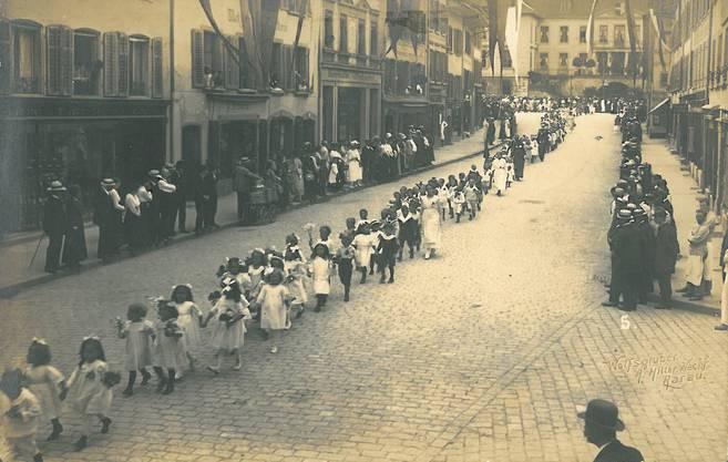 Aufnahme aus dem Jahr 1919.