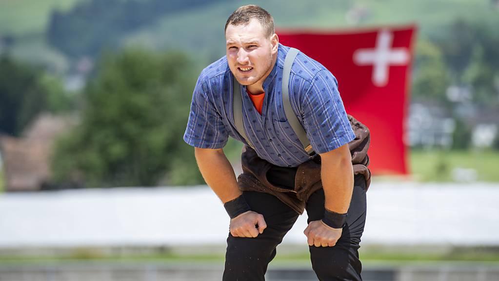 Joel Wicki musste den Wettkampf in Ibach abbrechen