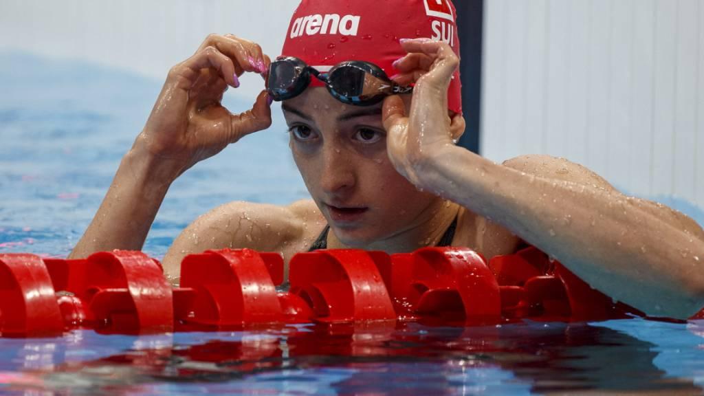 Lisa Mamié blieb im Halbfinal über 100 m Brust um mehr als acht Zehntel über ihrem eigenen Landesrekord