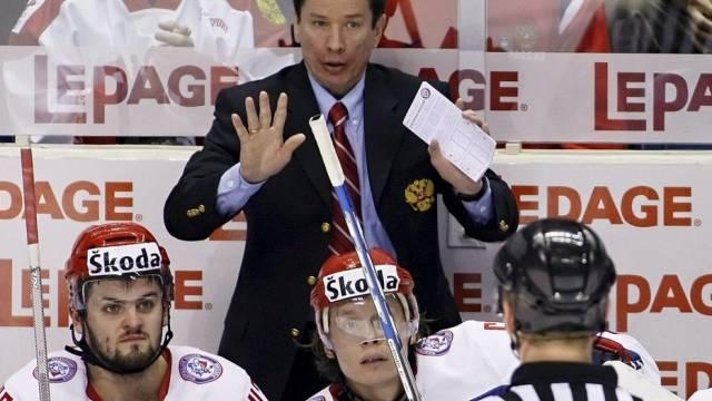 Russlands Coach Slawa Bykow setzt mehrheitlich auf Spieler der KHL