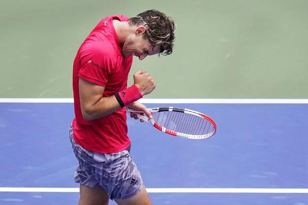 Dominic Thiem stand bisher drei Mal im Final eines Grand-Slam-Turniers, zwei Mal in Paris (2 Niederlagen gegen Nadal), ein Mal in Melbourne.