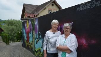 Elisabeth Brönnimann (links) und Patrizia Bertschi initiieren einen Treffpunkt im Jugendhaus Piccadilly.