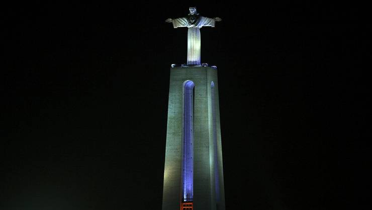 Fast so schön wie das Original in Brasilien - die Cristo Rei in Portugal