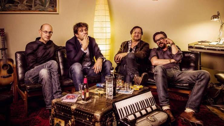 Die Band Silver Lining tritt im Rahmen der MittwochsMusig in Villnachern auf.