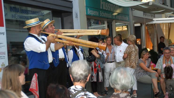Die Aarauer Stadtstubete vom vergangenen August. (Bild: Sibylle Haltiner)