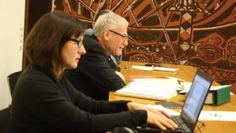 Stadtpräsident KUrt Fluri will die Ortsplanungsrevision durchboxen - allerdings nicht im Gemeinderatssaal.