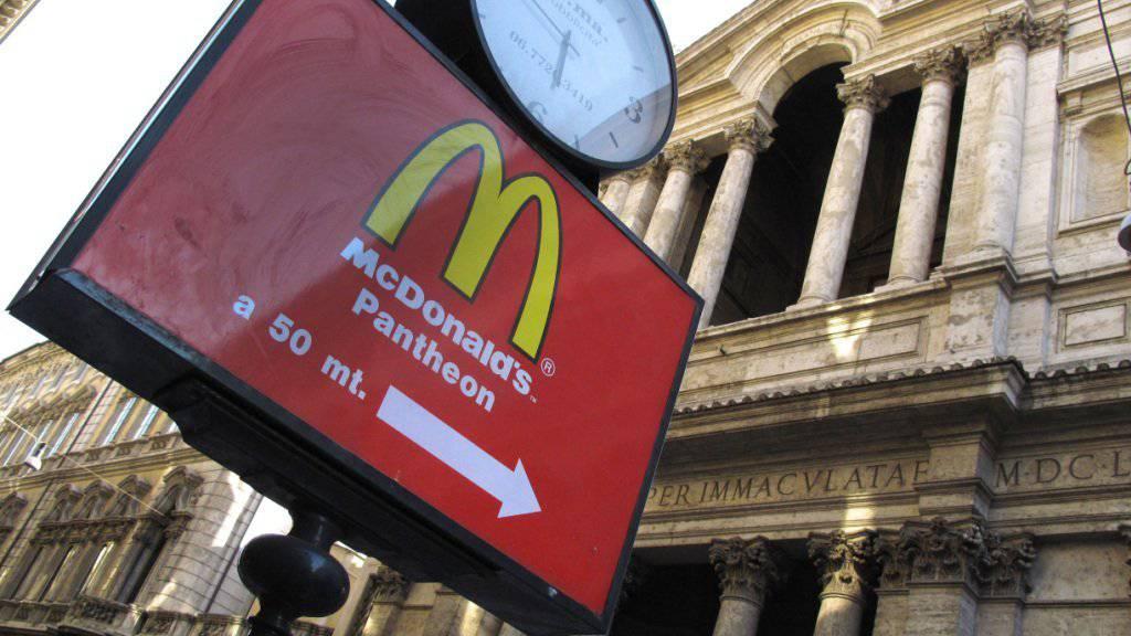 In Rom und Florenz fühlt sich die Fastfood-Kette McDonalds von den Behörden diskriminiert. (Archiv)