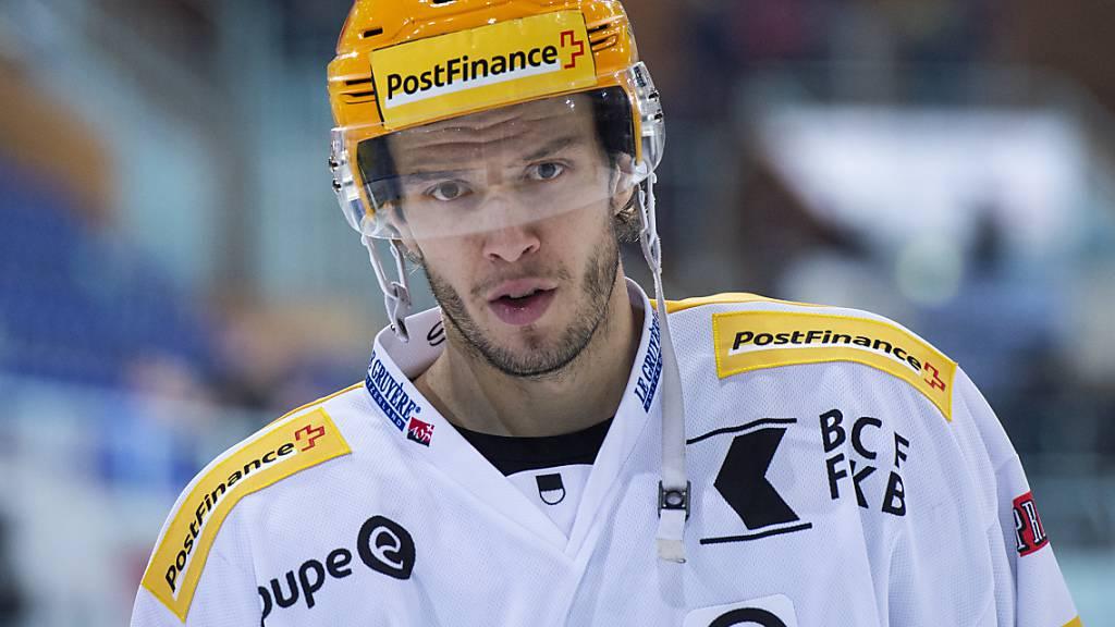 Julien Sprunger will mit Fribourg-Gottéron in den nächsten vier Jahren einen Titel gewinnen
