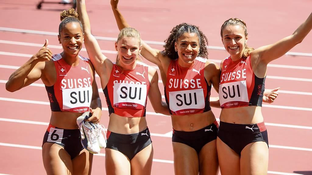 Schweizer Sprint-Staffel souverän im Final