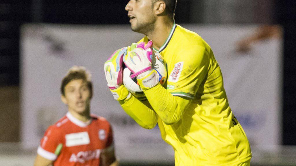 Goalie Dejan Stojanovic bindet sich längerfristig an St. Gallen