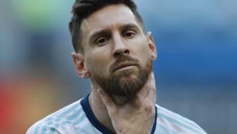 Lionel Messi kann sich über das Strafmass nicht beklagen