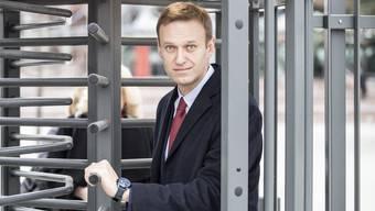 Wurde vergiftet: Alexei Nawalny.
