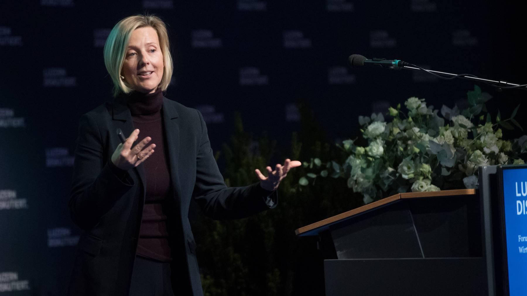 Neu im Stiftungsrat von Lucerne Festival: Marianne Janik, seit fünf Jahren Geschäftsführerin von Microsoft Schweiz.