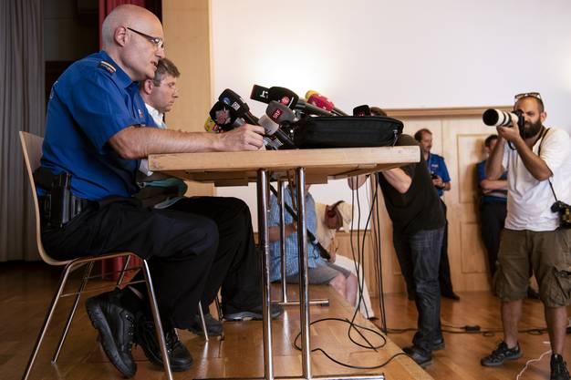 Die Flugunfalluntersuchung kann sich auf die Aussagen mehrerer Augenzeugen stützen, sagte Andreas Tobler von der Kantonspolizei Graubünden.
