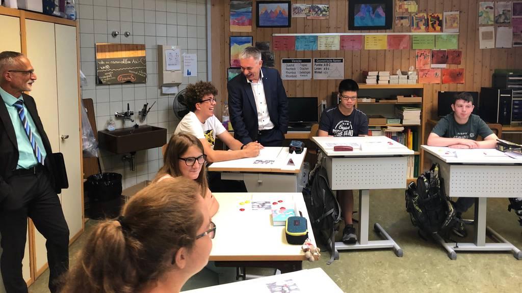 Schulstart im Aargau