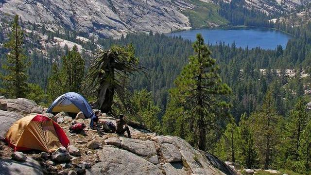 Touristen im Yosemite-Nationalpark (Archiv)