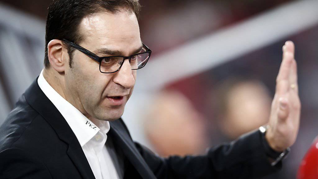 Interimstrainer Yves Sarault soll in Lausanne einen Vertrag bis zum Saisonende erhalten