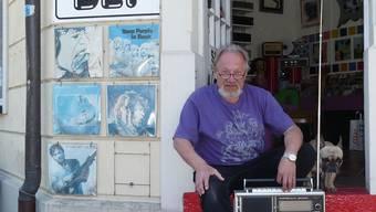 Auch Wolfgang Frei – Besitzer des Musik-Studios Frei – muss sich ein neues Lokal suchen.  mru