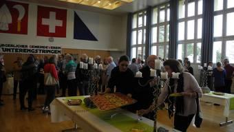 Der Bürgerliche Gemeindeverein Unterengstringen organisierte den 23. Neujahrsapéro.