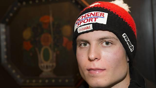 Ralph Weber gewann zum dritten Mal eine Europacup-Abfahrt