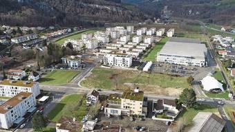 Hoch hinaus: In Oensingen-West sollen in den nächsten Jahren unter anderem siebenstöckige Bauten entstehen.
