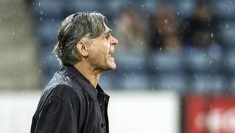 Maurizio Jacobacci feierte im Luzerner Regen einen gelungenen Einstand als Trainer von Lugano