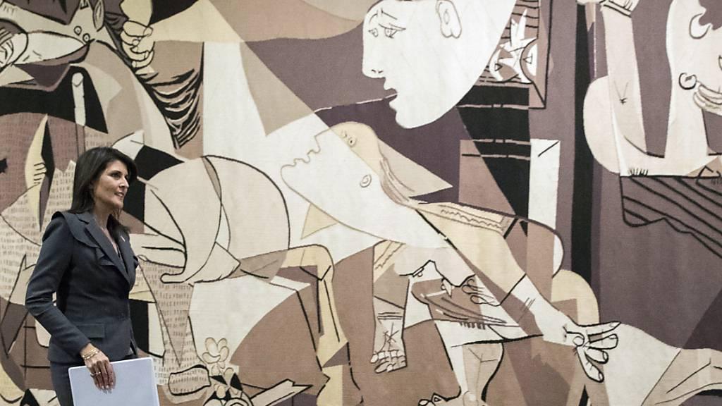 Berühmter «Guernica»-Wandteppich verlässt UN-Hauptquartier