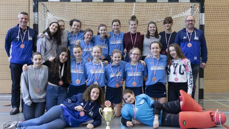HCO U15 Mädchen - Gold und Bronze