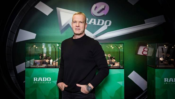 Master of Materials: Rado-Chef Matthias Breschan lud zur Präsentation neuer Modelle
