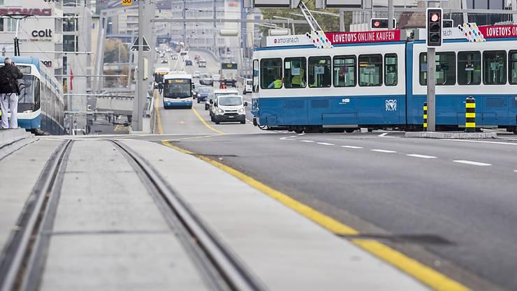 Pause während der Fahrt: Für Tramchauffeure gibt es im Bereich Escher Wyss-Platz eine ungewöhnliche Möglichkeit. (Symbolbild)