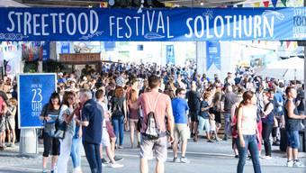 Bestes Wetter fürs Steeetfood Festival Solothurn.