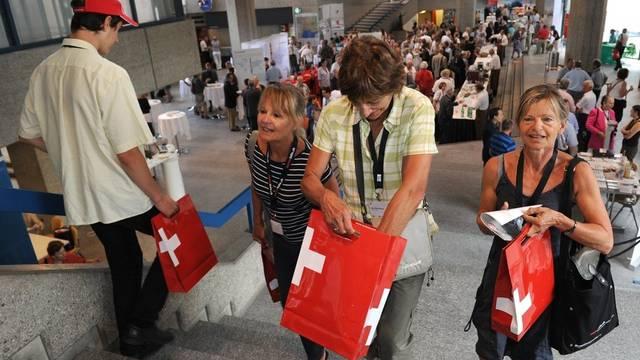 Das politische Profil der Auslandschweizer kommt dem Badener Stimmvolk am nächsten.